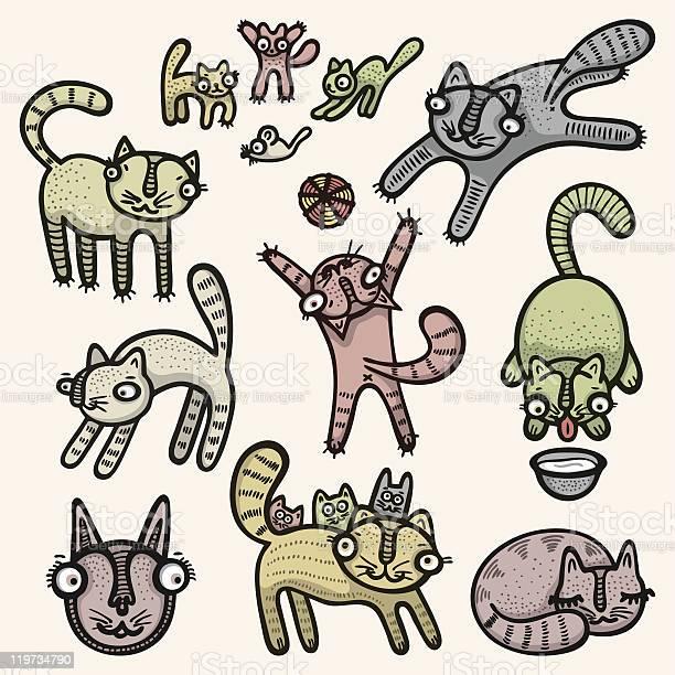 Doodle cats vector id119734790?b=1&k=6&m=119734790&s=612x612&h=q8mczmwzek9oxdyefhrimuermdwqp36hr7u fivdpog=