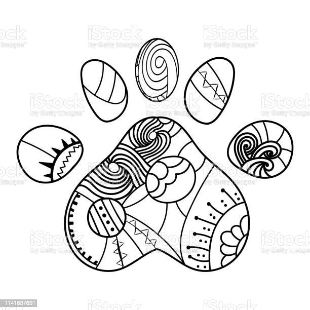 Doodle coloring animal trace coloring for adults page and book vector vector id1141637691?b=1&k=6&m=1141637691&s=612x612&h=26gmvycl  ymkjhmrkzr1hf2aksuelqsubnlemxdb0g=