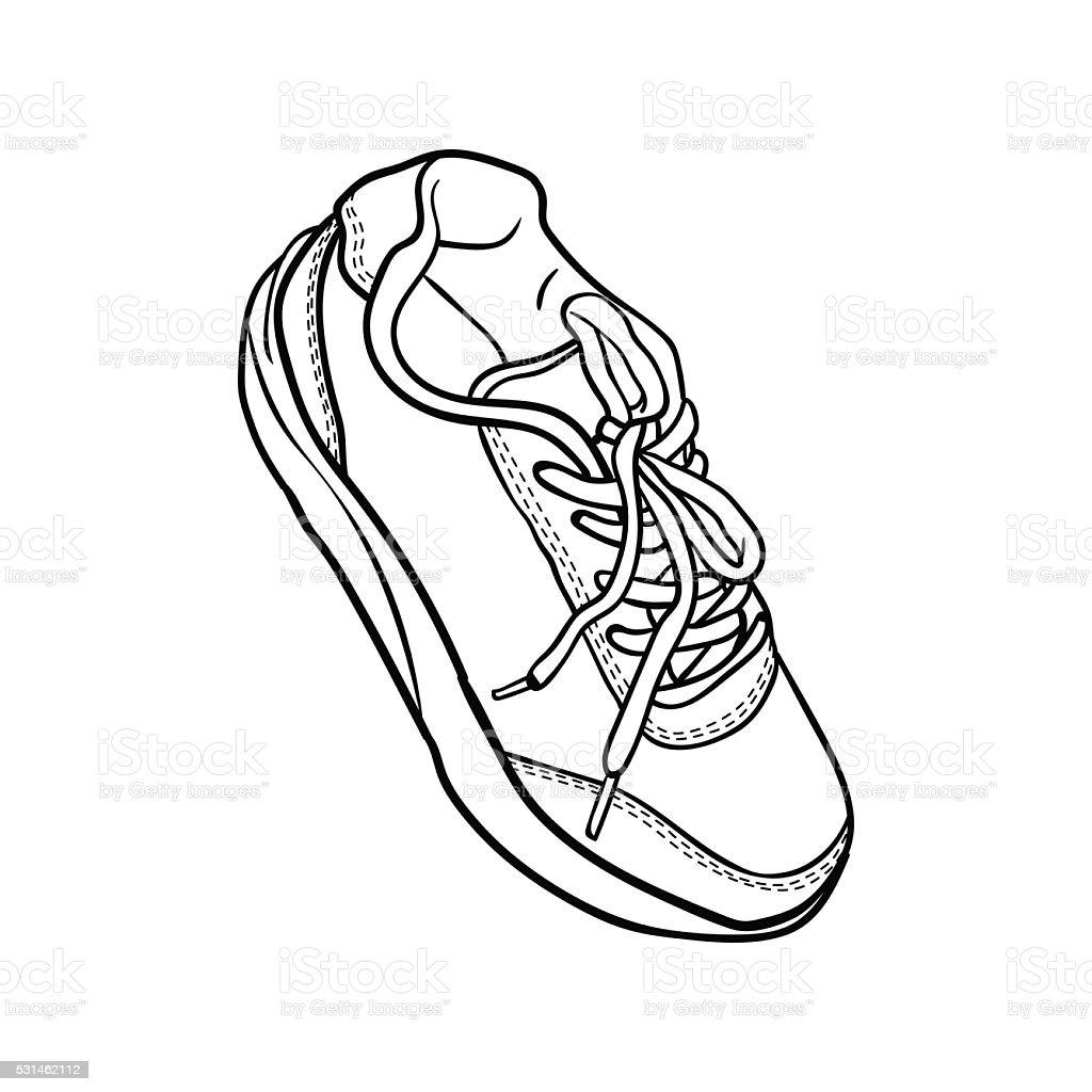 Chaussure basket dessin - Dessin basket ...