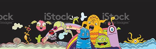 Doodle creatures vector id531556340?b=1&k=6&m=531556340&s=612x612&h=t9si0o0eh5cz3 thf4 sscqi 3jnszbfmepxt2pg  a=