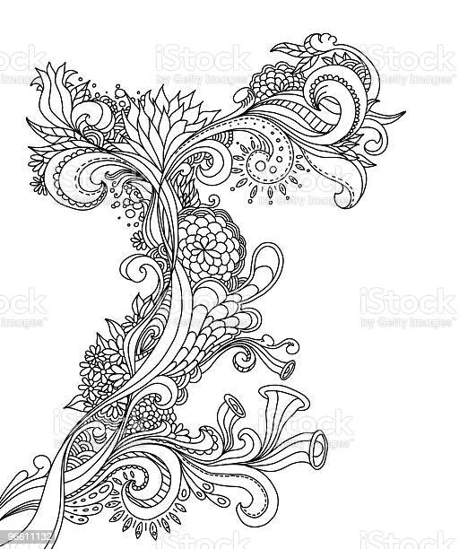 Бессмысленный Рисунок Дизайн — стоковая векторная графика и другие изображения на тему Абстрактный