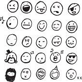 Doodle emotions