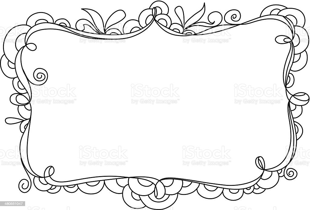 Doodle Frame Stock Vector Art More Images Of Back To School