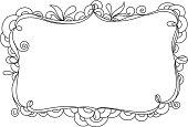 Vector Illustration of Doodle Frame