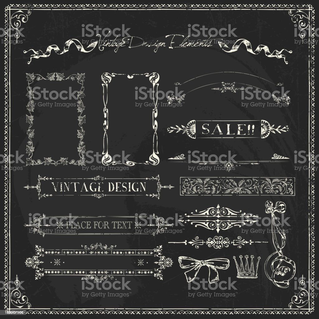 Doodle Frames and design elements royalty-free doodle frames and design elements stock vector art & more images of antique