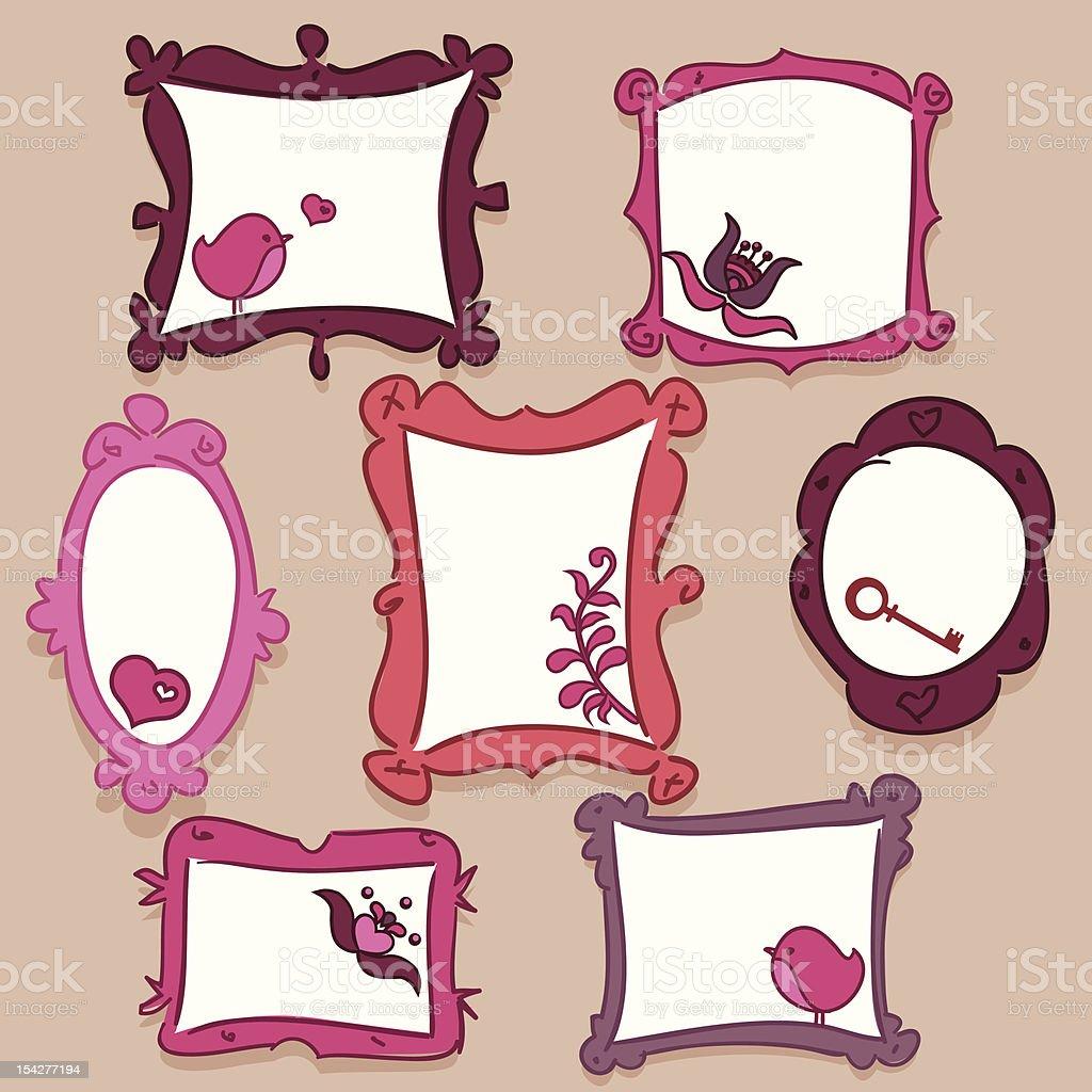 doodle frames royalty-free doodle frames stock vector art & more images of bird