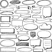 Hand-drawn design elements