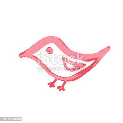 istock Doodle grunge style icon. Decorative element. Outline, cartoon line icon 1324214630
