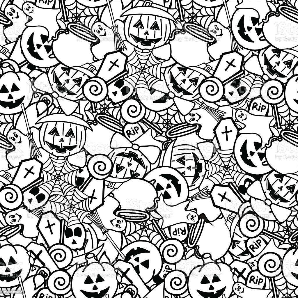 kawaii bilder zum ausmalen halloween  malvorlagen