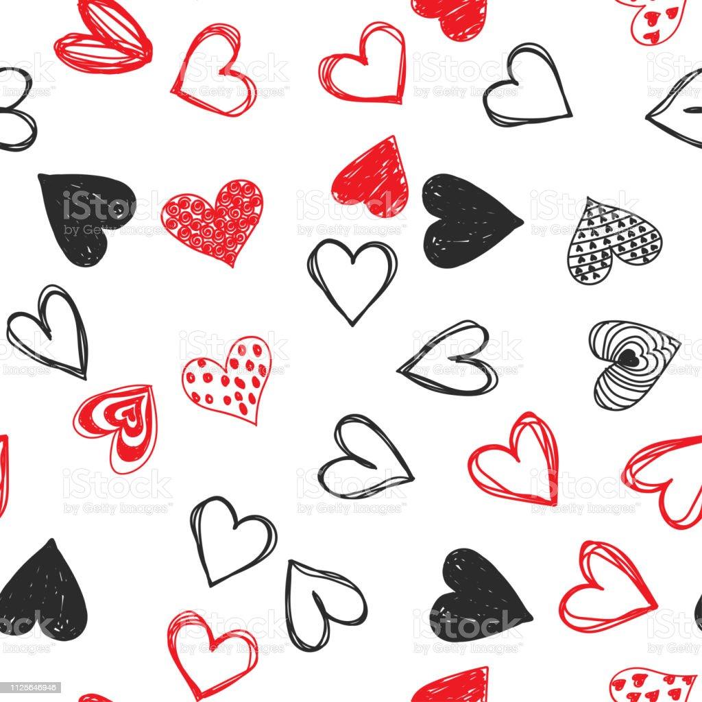 Vectores De Dibujos Romanticos A Lapiz E Ilustraciones Libres De