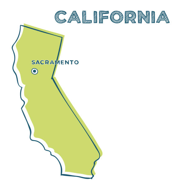 Download Cartoon Of State California Illustrations, Royalty-Free ...