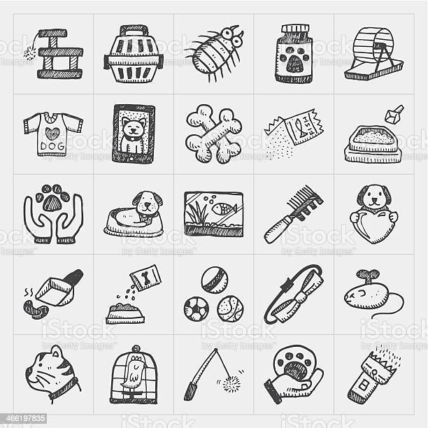 Doodle pet icons set in black drawings vector id466197835?b=1&k=6&m=466197835&s=612x612&h=biajh 80a0vdzbbd3seodyhrb7d7oaqrhfth g5hy58=