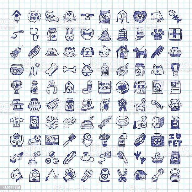 Doodle pet icons vector id485574116?b=1&k=6&m=485574116&s=612x612&h=vpl5qphs rmbkuxcd36qda 7cl1kksuqxmscg vmkz4=