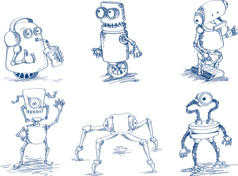 doodle robots