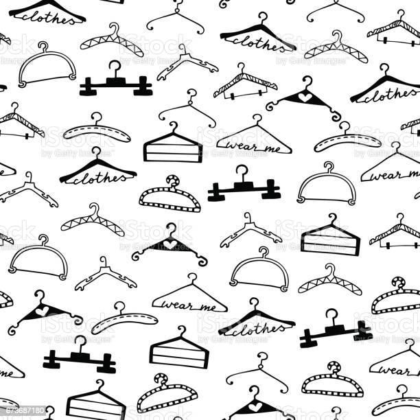 Doodle seamless clothes hangers pattern vector id673687180?b=1&k=6&m=673687180&s=612x612&h=kjt5mjgq8encv5rhdevdfynbpmiz6zaf3 cwldbgaxs=
