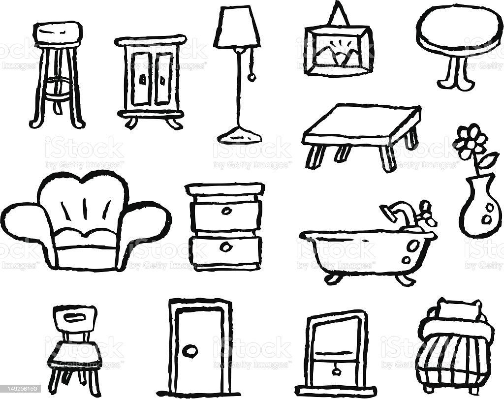 0 istock for Disegni mobili casa