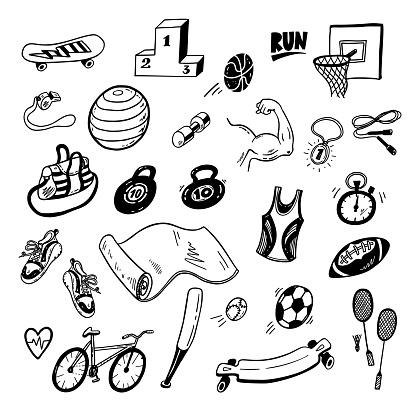 Doodle sport set