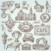 Doodle Town Elements