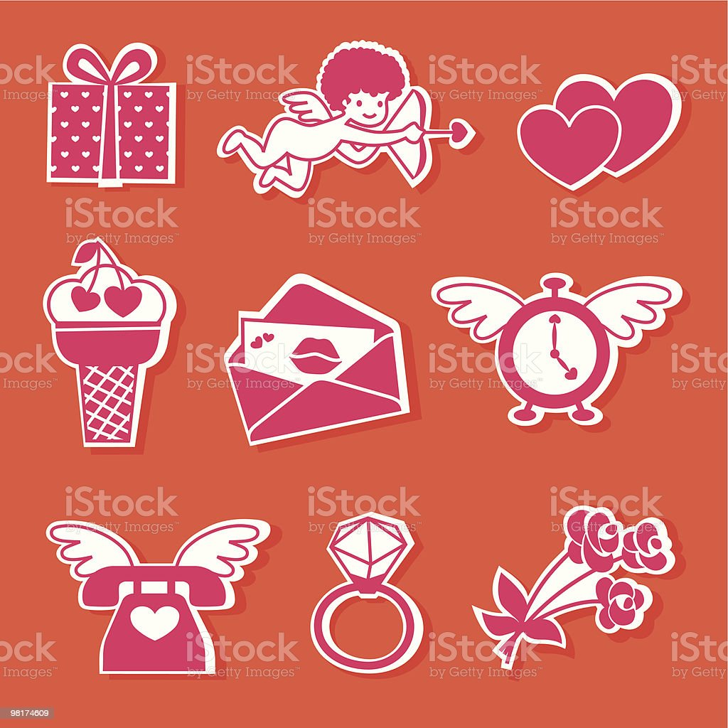 Doodle Valentine. royalty-free doodle valentine stock vector art & more images of clip art