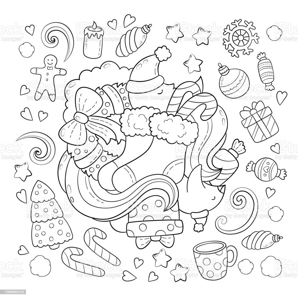落書きベクトル図抽象的な背景テクスチャパターン壁紙正月クリスマス
