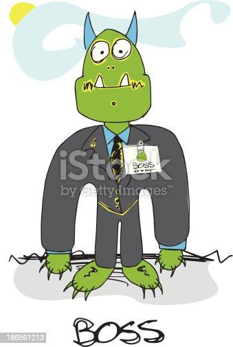 Doodled Monster - Boss