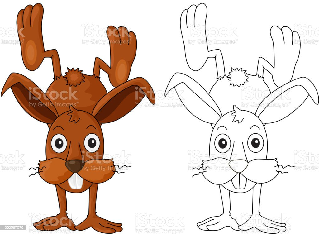 Doodles drafting animal for cute rabbit royalty-free doodles drafting animal for cute rabbit stock vector art & more images of animal