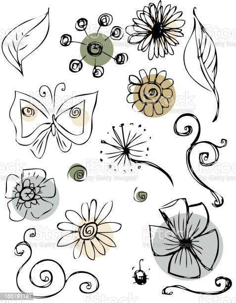 Doodles flowers collection vector id155191191?b=1&k=6&m=155191191&s=612x612&h=b6kt3 ve atnny23to8oq c722cxvnwdh6sfjjzhofw=