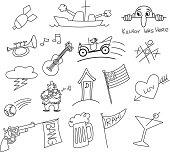 Doodles from the twenties