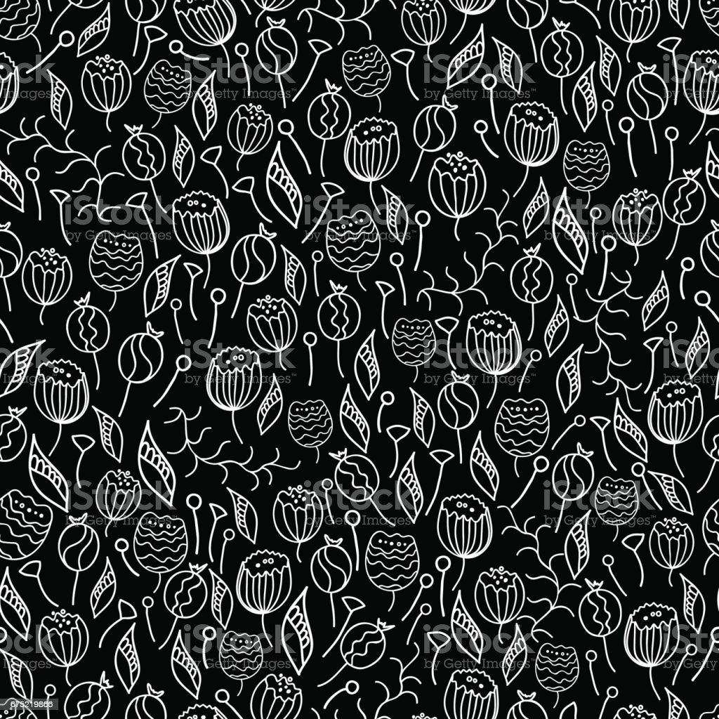 doodles hand drawn seamless pattern. Vector royalty-free doodles hand drawn seamless pattern vector stock vector art & more images of abstract