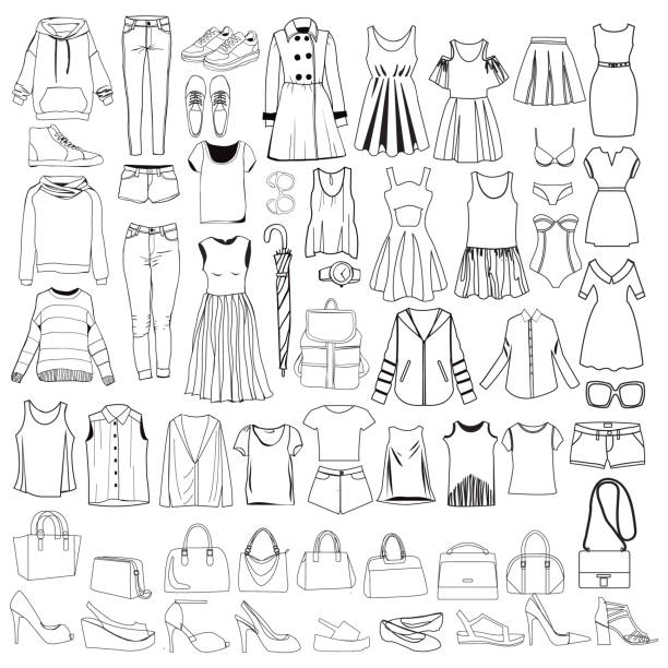 Best Clothes Illustrations, Royalty-Free Vector Graphics & Clip Art
