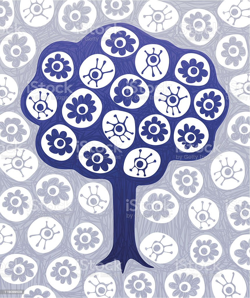 DoodleTree royalty-free stock vector art