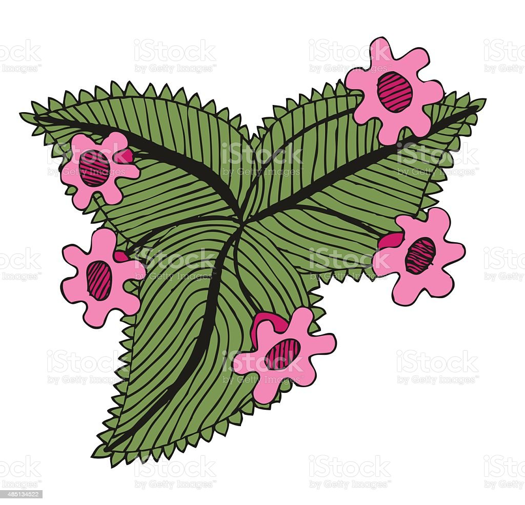 Doodling hand drawn amazing flowers like gloxinia stock vector art doodling hand drawn amazing flowers like gloxinia royalty free doodling hand drawn amazing flowers like izmirmasajfo