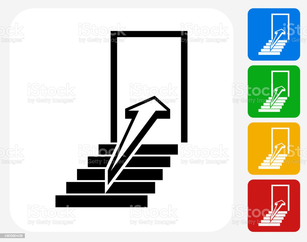 Door Icon Flat Graphic Design royalty-free door icon flat graphic design stock vector art  sc 1 st  iStock & Door Icon Flat Graphic Design Stock Vector Art \u0026 More Images of ...
