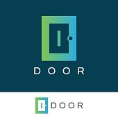 icon template with door element