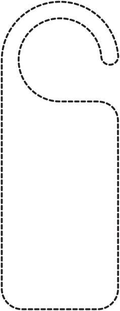 Royalty Free Door Hanger Clip Art Vector Images