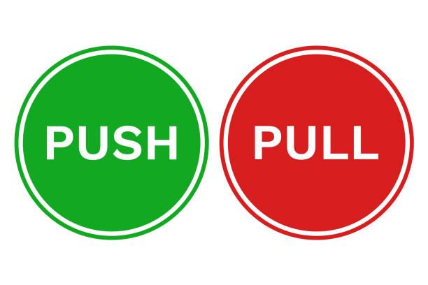Best Push Door Illustrations Royalty Free Vector Graphics