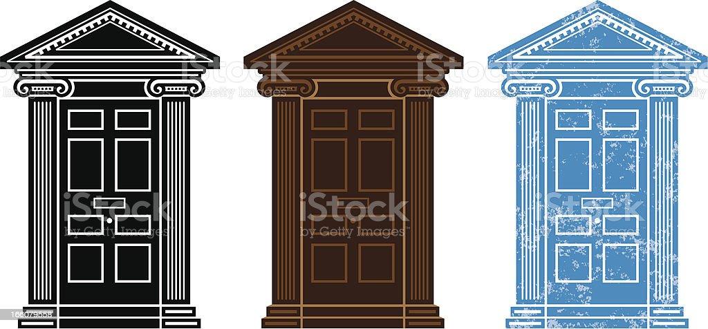 Door symbols royalty-free door symbols stock vector art & more images of architectural feature
