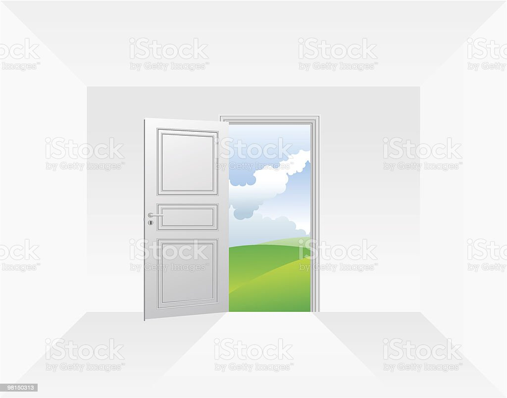 Porta porta - immagini vettoriali stock e altre immagini di ambientazione esterna royalty-free