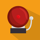 doorbell school ring icon