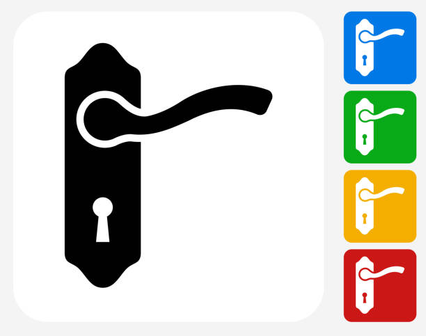 Royalty Free Door Knob Clip Art Vector Images