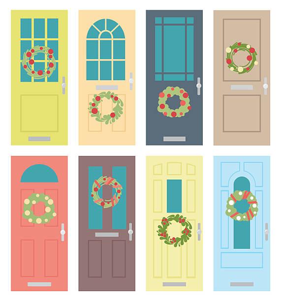 Free Christmas Door Cliparts, Download Free Clip Art, Free Clip Art on  Clipart Library