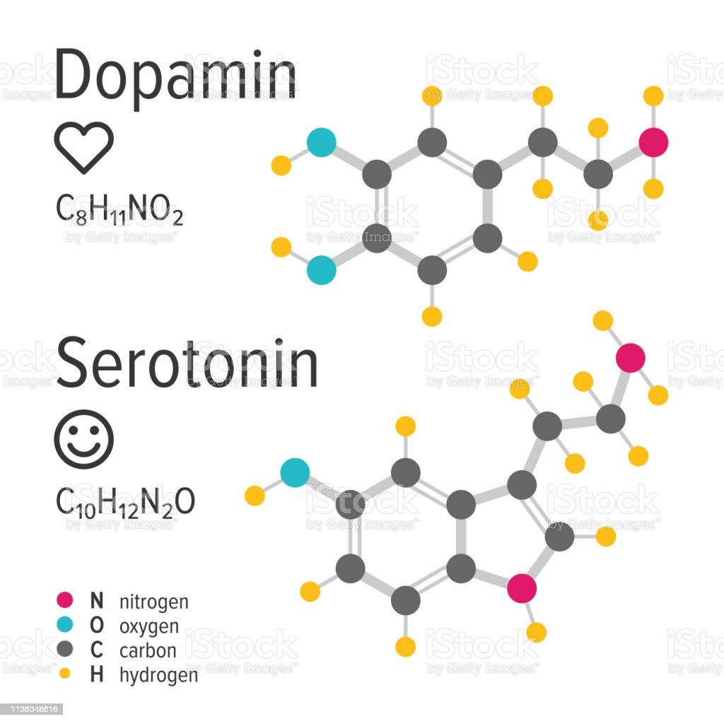 Serotonin dopamin