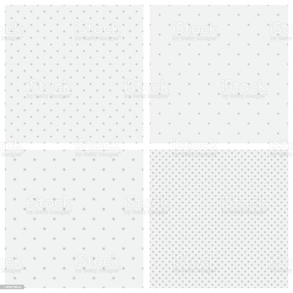 Dot backgrounds vector art illustration