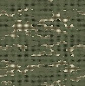 Dot camouflage seamless pattern green