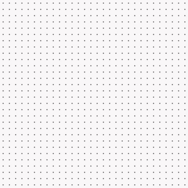Dot pattern seamless vector black and white. vector art illustration