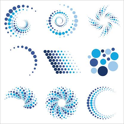 Dot Patterns Logos 1