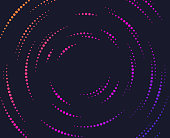 istock Dot Spiral Gradient Line Abstract 1276542037