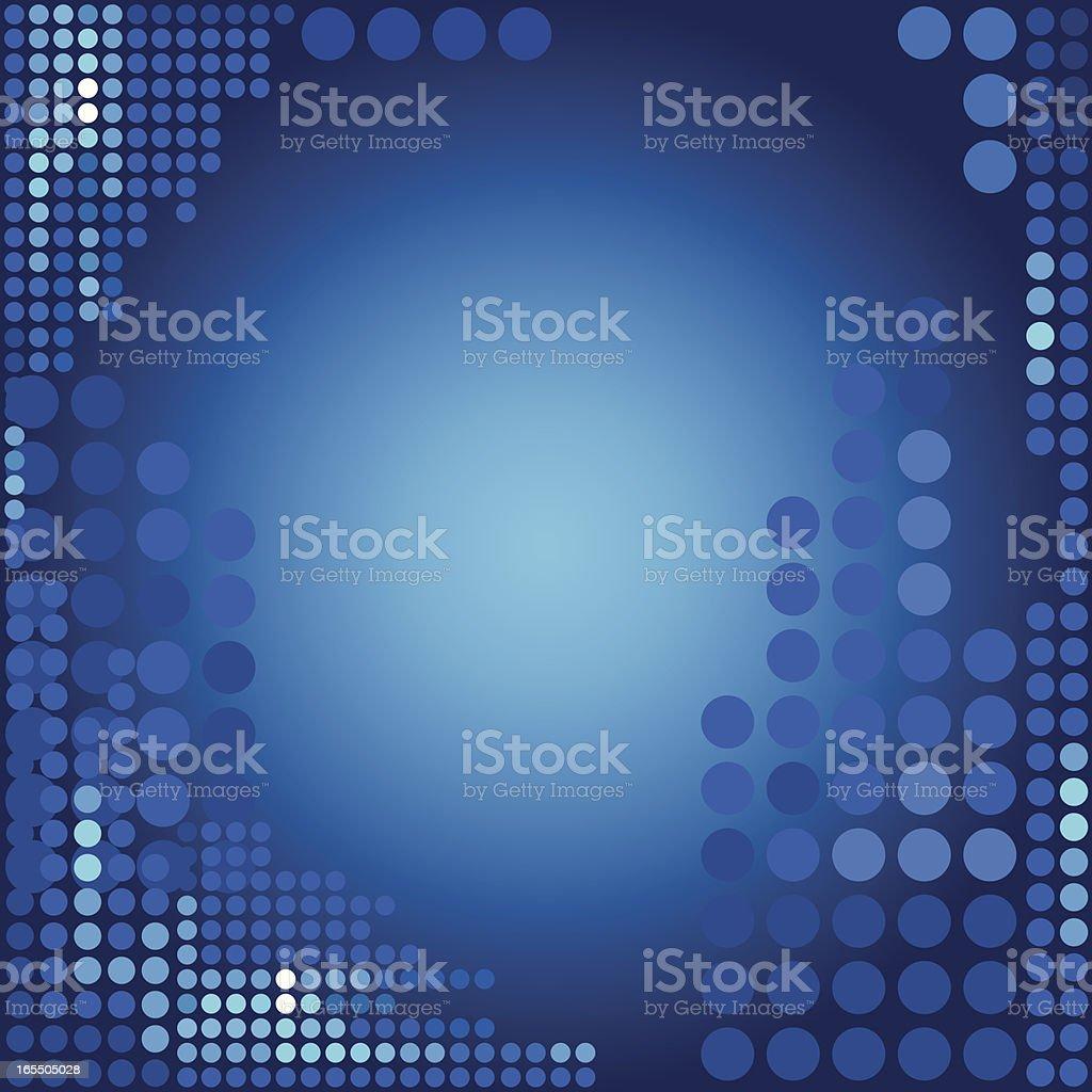 Dots Background vector art illustration