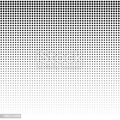 istock Dots Background. Vintage Modern Pattern. Grunge Abstract Backdrop. Pop-art Texture. Vector illustration 1060244308