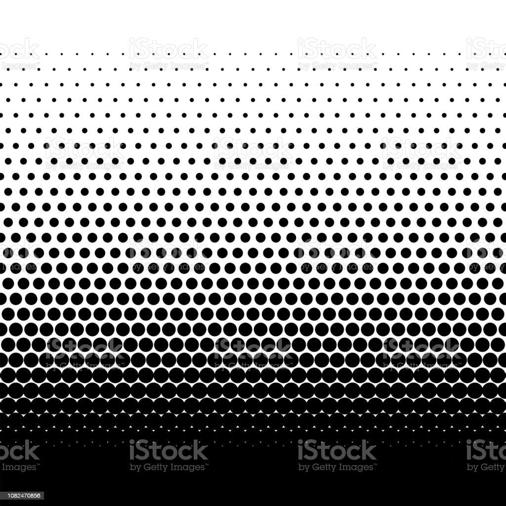 Dotted gradient vector illustration - Royalty-free Abstrato arte vetorial